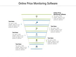 Online Price Monitoring Software Ppt Powerpoint Presentation Slides Icon Cpb