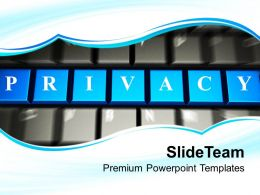 Online Privacy Protection Internet Powerpoint Templates Ppt Themes And Graphics 0113