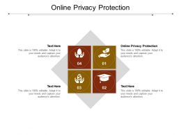 Online Privacy Protection Ppt Powerpoint Presentation Outline Model Cpb