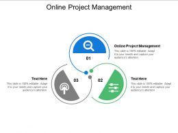 Online Project Management Ppt Powerpoint Presentation Slide Cpb