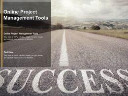 Online Project Management Tools Ppt Powerpoint Presentation Outline Rules Cpb