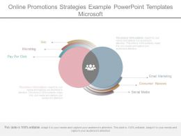 Online Promotions Strategies Example Powerpoint Templates Microsoft