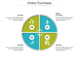 Online Purchases Ppt Powerpoint Presentation Inspiration Designs Cpb