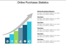 Online Purchases Statistics Ppt Powerpoint Presentation Show Background Cpb