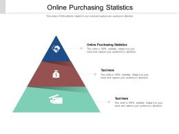 Online Purchasing Statistics Ppt Powerpoint Presentation Gallery Show Cpb