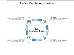 Online Purchasing System Ppt Powerpoint Presentation Icon Tips Cpb