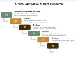 Online Qualitative Market Research Ppt Powerpoint Presentation Show Influencers Cpb