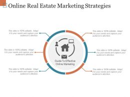 Online Real Estate Marketing Strategies Ppt Sample File