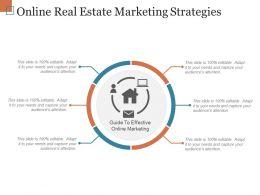 Online Real Estate Marketing Strategies Ppt Sample File