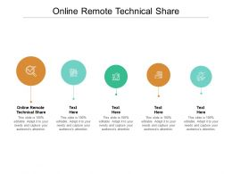 Online Remote Technical Share Ppt Powerpoint Presentation Summary Template Cpb
