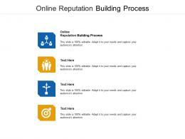 Online Reputation Building Process Ppt Powerpoint Presentation File Slideshow Cpb