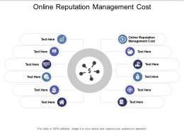 Online Reputation Management Cost Ppt Powerpoint Presentation Infographic Template Icons Cpb