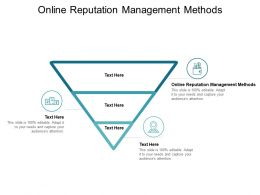 Online Reputation Management Methods Ppt Powerpoint Presentation Model Cpb
