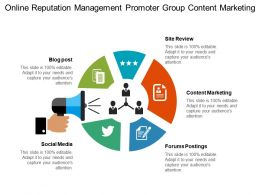 Online Reputation Management Promoter Group Content Marketing