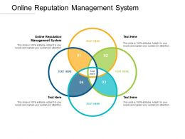 Online Reputation Management System Ppt Powerpoint Presentation Infographics Portfolio Cpb
