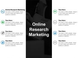 Online Research Marketing Ppt Powerpoint Presentation File Gallery Cpb