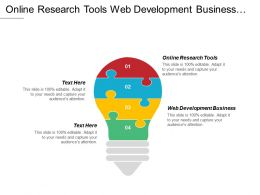 Online Research Tools Web Development Business Social Networking