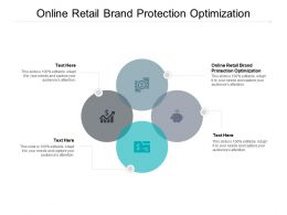 Online Retail Brand Protection Optimization Ppt Powerpoint Image Cpb