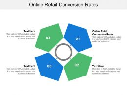 Online Retail Conversion Rates Ppt Powerpoint Presentation File Elements Cpb
