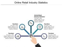 Online Retail Industry Statistics Ppt Powerpoint Presentation Gallery Designs Cpb
