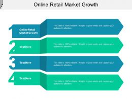 Online Retail Market Growth Ppt Powerpoint Presentation Infographics Layout Cpb