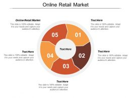 Online Retail Market Ppt Powerpoint Presentation Icon Summary Cpb