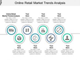 Online Retail Market Trends Analysis Ppt Powerpoint Presentation Infographics Tips Cpb