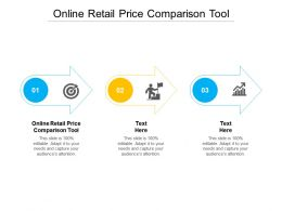 Online Retail Price Comparison Tool Ppt Powerpoint Presentation Icon Design Inspiration Cpb