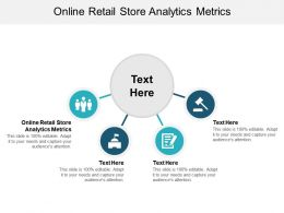 Online Retail Store Analytics Metrics Ppt Powerpoint Presentation Layouts Styles Cpb