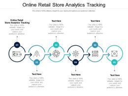 Online Retail Store Analytics Tracking Ppt Powerpoint Presentation Icon Objects Cpb