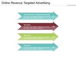 Online Revenue Targeted Advertising Ppt Powerpoint Presentation Gallery Rules Cpb