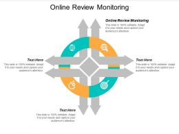 Online Review Monitoring Ppt Powerpoint Presentation Ideas Skills Cpb