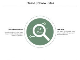 Online Review Sites Ppt Powerpoint Presentation Layouts Slide Download Cpb