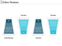 Online Reviews Ppt Powerpoint Presentation Infographic Template Design Inspiration Cpb