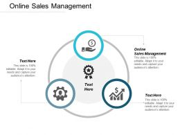 Online Sales Management Ppt Powerpoint Presentation Outline Skills Cpb