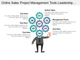 Online Sales Project Management Tools Leadership Skills Training
