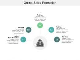 Online Sales Promotion Ppt Powerpoint Presentation Slides Files Cpb