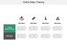 Online Sales Training Ppt Powerpoint Presentation File Slide Download Cpb