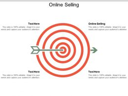 Online Selling Ppt Powerpoint Presentation File Demonstration Cpb