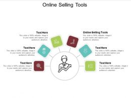 Online Selling Tools Ppt Powerpoint Presentation Slides Aids Cpb