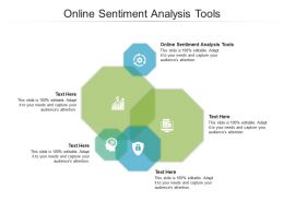 Online Sentiment Analysis Tools Ppt Powerpoint Presentation Styles Professional Cpb