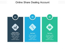 Online Share Dealing Account Ppt Powerpoint Infographic Template Gallery Cpb