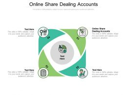 Online Share Dealing Accounts Ppt Powerpoint Presentation Layouts Brochure Cpb