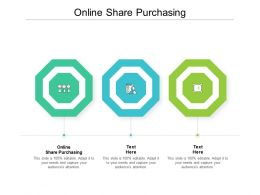 Online Share Purchasing Ppt Powerpoint Presentation Ideas Cpb