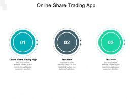 Online Share Trading App Ppt Powerpoint Presentation Summary Portfolio Cpb