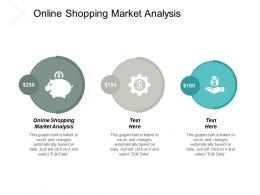 Online Shopping Market Analysis Ppt Powerpoint Presentation Portfolio Background Cpb