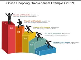 Online Shopping Omni Channel Example Of Ppt