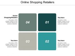 Online Shopping Retailers Ppt Powerpoint Presentation Infographic Template Clipart Cpb