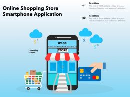 Online Shopping Store  Smartphone Application