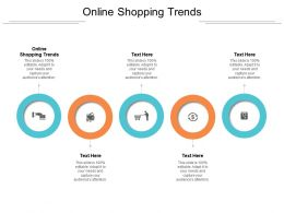 Online Shopping Trends Ppt Powerpoint Presentation Summary Designs Cpb